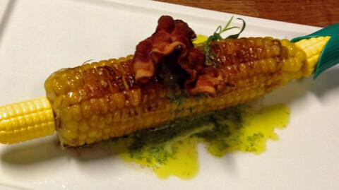 H�ndplukket mais, rett fra �keren