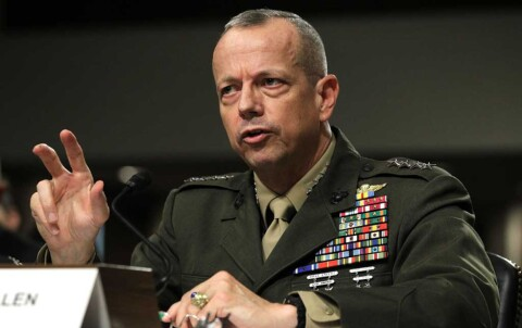 Amerikansk general: ? Vi m� utrydde Den islamske staten N�!