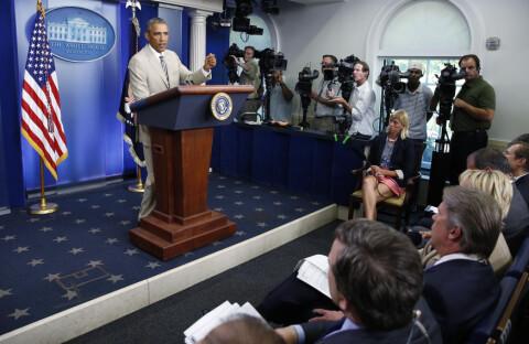 Obama: ? Ingen plan om Syria-angrep
