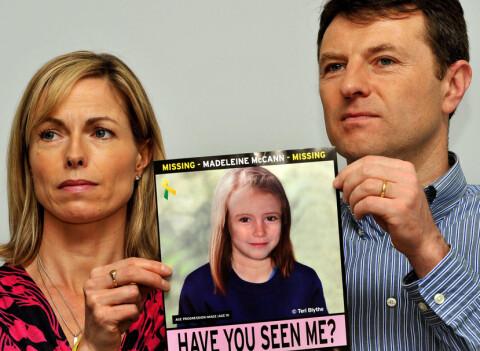 Hemmeligstemplet rapport: Britisk politi �dela Maddie-etterforskninen