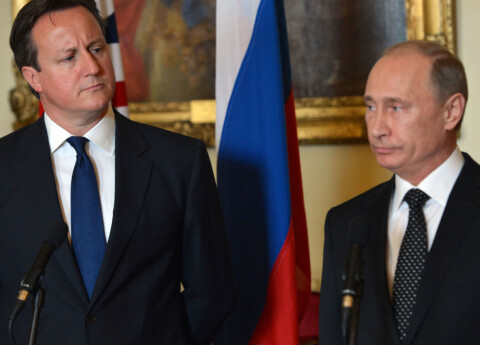 ? Sammenlignet Putin med Hitler
