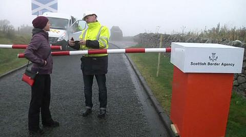 H�rt om den skotske grenseovergangen?