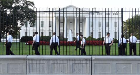 Nok en person fors�kte � ta seg inn i Det hvite hus