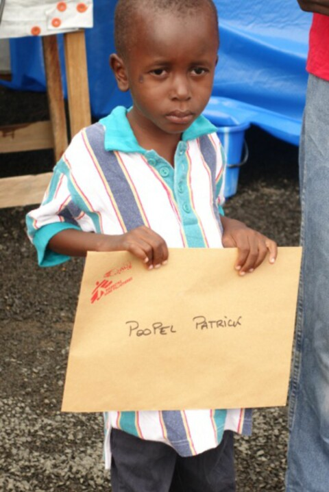 Patrick (5) l� for d�den med ebola - hans h�yeste �nske var � f� en sykkel