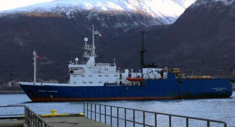 Her legger russerne til kai ved gammel NATO-base i Troms�