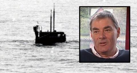 Skipperen Onar (68) fikk denne russiske ub�ten i tr�len