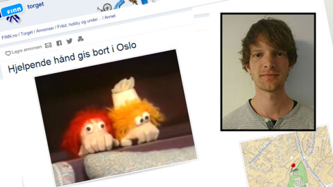 Thor Inge (26) ante ikke at Finn-annonsen hans g�r Norge rundt