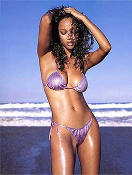 Tyra Banks pussy