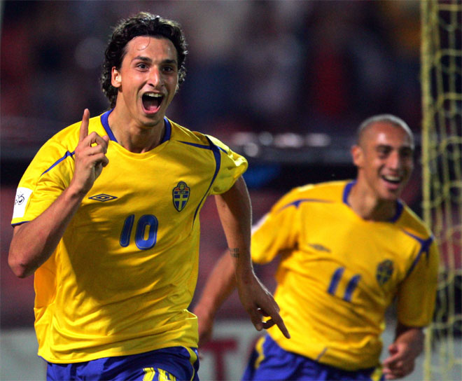 Ibrahimovic From Sweden