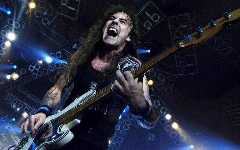 Steve Harris, líder de Iron Maiden