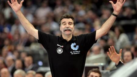 LEGENDE: Heiner Brandts Tyskland ankommer Kroatia som regjerende verdensmestere.