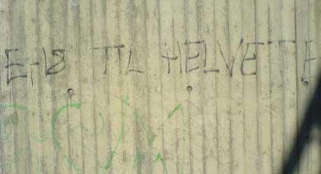 MISFORNØYD: Kan dette være en fornorskning av «Highway to hell».