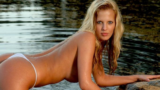 Glamourmodell Ida Gran fra serien «Paradise» plages på nett. thumbnail