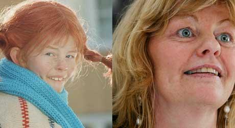 LIKHET: «Pippi» har ikke forandret seg så mye etter hun vokste opp.