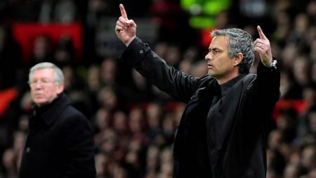 OVERTAR UNITED? José Mourinho blir nevnt som en potensiell etterfølger for Sir Alex Ferguson.