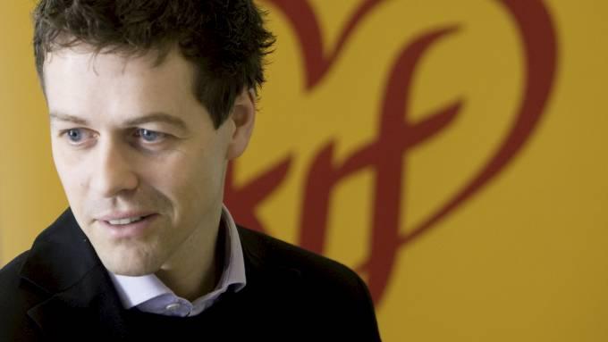 KrF-lederen Knut Arild Hareide hyller Jan Thomas som homo-forbilde! thumbnail
