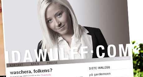 ÆRLIG: Den populære bloggeren Ida Wulff ble utsatt for seksuell trakassering av fremmede gutter.