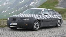 Spionbilder av nye Saab 9-5
