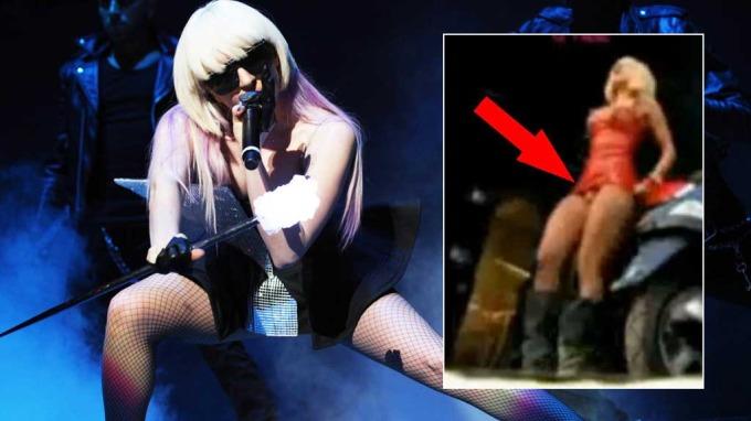 Lady GaGa har neppe penis, men kanskje ei rikt utstyrt bollemus! thumbnail