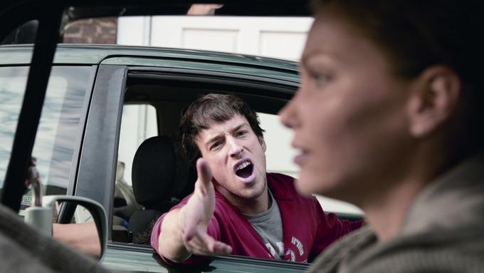 Blir du hissig i trafikken? Det er du i såfall ikke alene om. (Illustrasjonsfoto)
