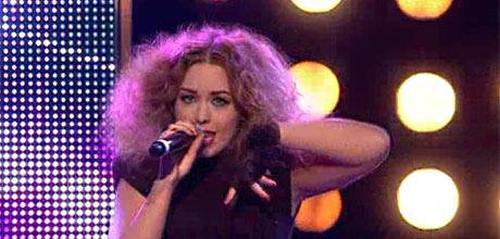 STEMT UT: Her gjør Rikke Lie sin siste opptreden på «X Factor».