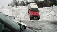 Det er aldri HELT fullt på parkeringsplassen