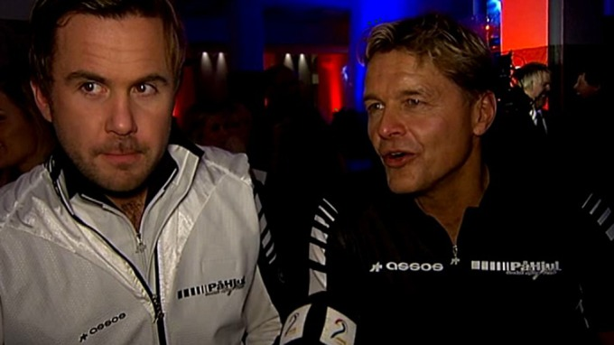 Dag Otto Lauritzen og medprogramleder Kristian Ødegaard med sykkelprogram! thumbnail