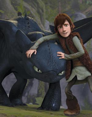 ANIMASJON: Slik ser tenåringsgutten Hikken ut. Alexander Rybak gir vikingehøvdingsønnen norsk og russisk stemem i filmen.