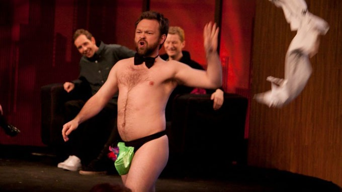 Er ikke redd for å begå noe mannlig stripping denne John Brungot! thumbnail