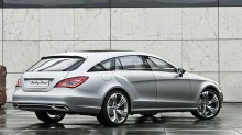 Offisielt: Mercedes CLS Shooting Brake kommer i 2012