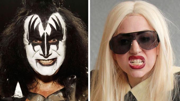 Rockelegenden Gene Simmons kaller Lady Gaga for Lady Kiss! thumbnail