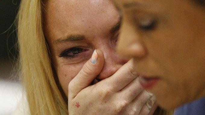 Bortskjemte Lindsay Lohan skulle vært dømt mye hardere! thumbnail