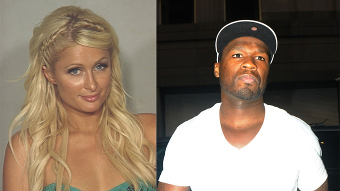 Den tispa har sniffet sier 50 Cent og Paris Hilton! Gi henne fengsel! thumbnail