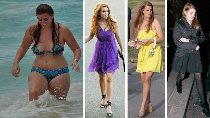 Den tidligere noe fete dundra prinsesse Beatrice har gitt seg slankingen i vold thumbnail