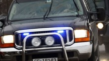 Kjørte forbi politiet på ett hjul