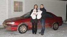 Plutselig ble bilen både varm og kald
