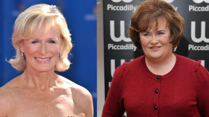 Susan Boyle skal spilles av Glenn Close i ny film om berømtheten! thumbnail