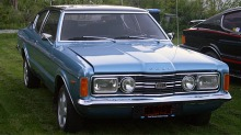 BILEN MIN: Lindas Ford Taunus GXL coupé 1971