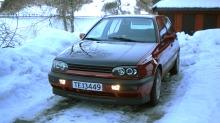 BILEN MIN: Stians Volkswagen Golf III 1993-modell