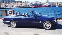 Mercedes E-klasse cabriolet: Fikk bilen stjålet i bilbutikken