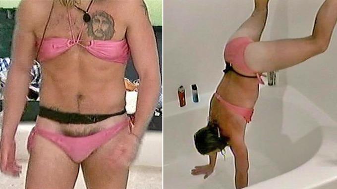 Mads Michalsen fra Moss trives både i bikini og naken, en riktig grisegutt thumbnail