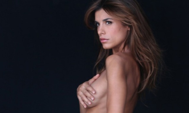 Elisabetta Canalis, kler seg kliss naken i en ny Peta-kampanje, svinat kvinne! thumbnail