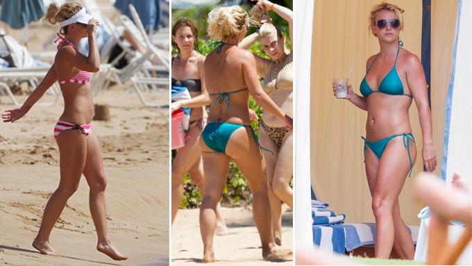 Britney Spears er tilbake i toppform, har en lekker og sexy kropp! thumbnail