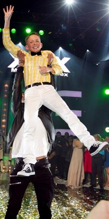 Daniel J. Elmrhari vant «Norske Talenter 2011»-finalen fredag 27. mai.