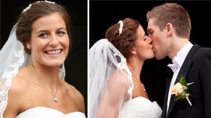 Nå er håndball-paret Linn-Kristin Riegelhuth og Einar Sand Koren gift