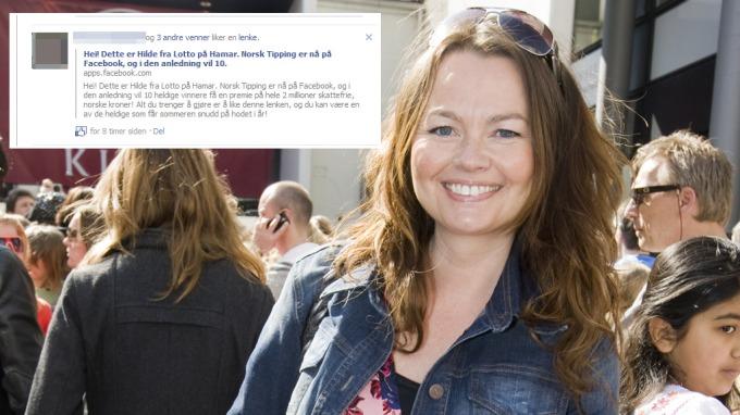 Hilde fra Lotto på Hamar misbrukes på Facebook! thumbnail
