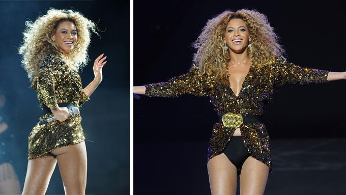 Beyoncé tok publikum med storm da hun avrundet den enorme Glastonbury-festivalen, kåt rumpe! thumbnail