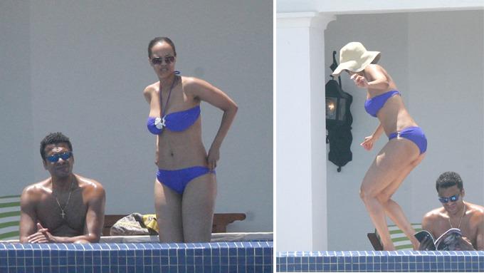 Tyra Banks, er sammen med kjæresten John Utendah på romantisk ferie i Mexico, lekre pupper! thumbnail