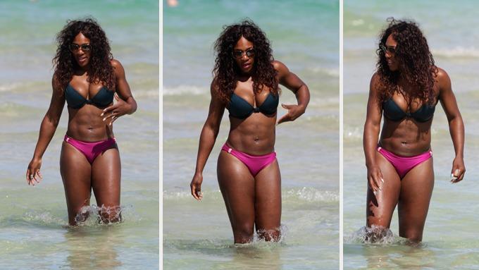Serena Williams er tynnere en noen gang, hun har slanket seg mye! thumbnail