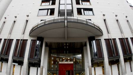 Fengslingsmøtet vil finne sted i Oslo tinghus, bare et steinkast fra regjeringskvartalet.